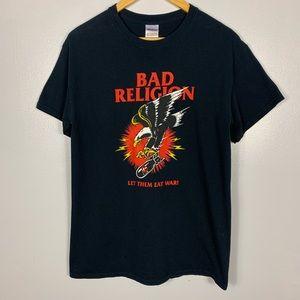 Vintage Bad Religion Let them eat War T-shirt